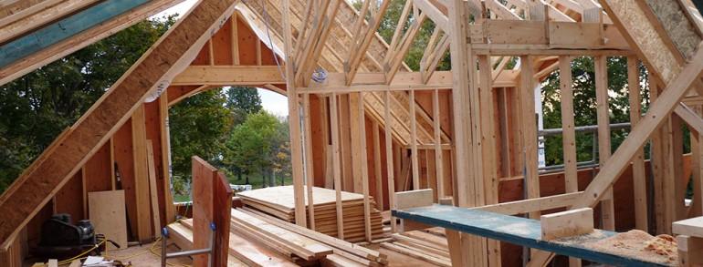 WEEK 13 : The roof spans great progress.