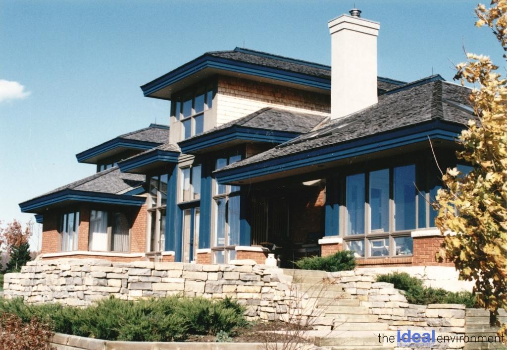 The Ideal Environment Portfolio - Home Design Exterior View
