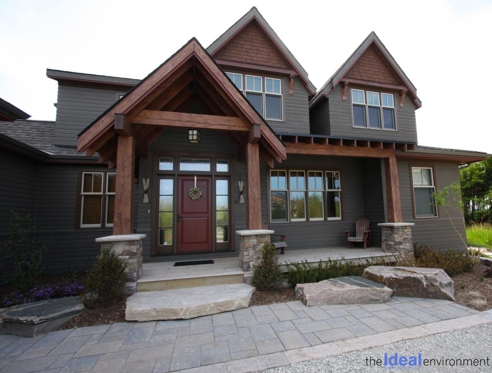 The Ideal Environment Portfolio - Cottage Design Front Entrance