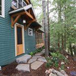 Muldrew Lake Cottage Back Door