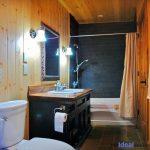 Kennisis Lake Cottage 1 Bathroom