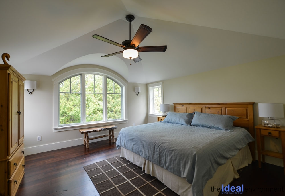 Chemong Lake Country Home Bedroom