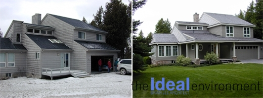 Balsam Lake Cottage 3 - Renovation - Before and After