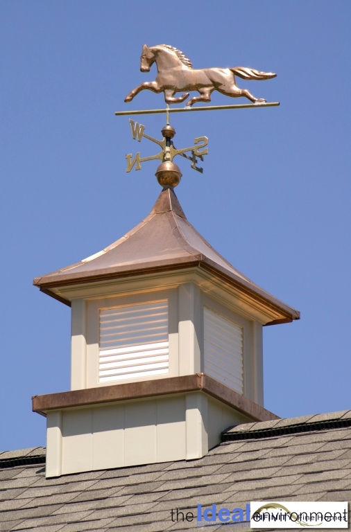 Terracotta Country Home Cupola