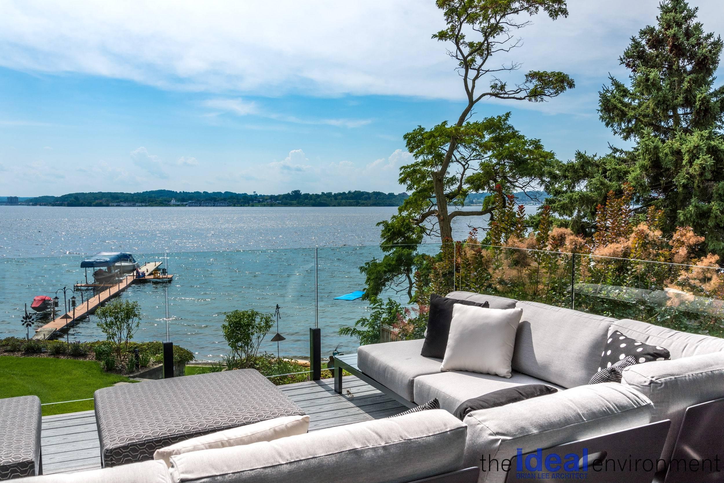 Midland Bay Cottage Deck View