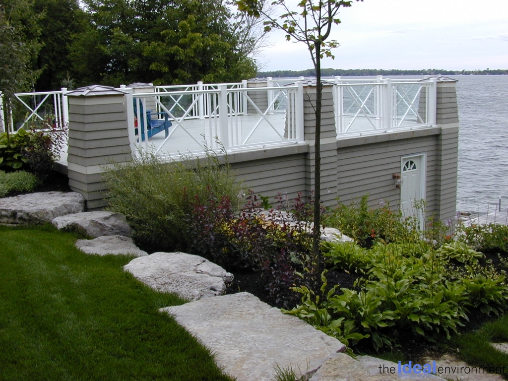 Balsam Lake Cottage 3 - Renovation - Deck
