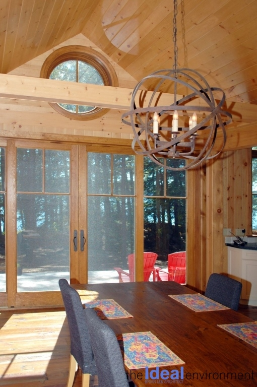 Kennisis Lake Cottage 1 Dining Area