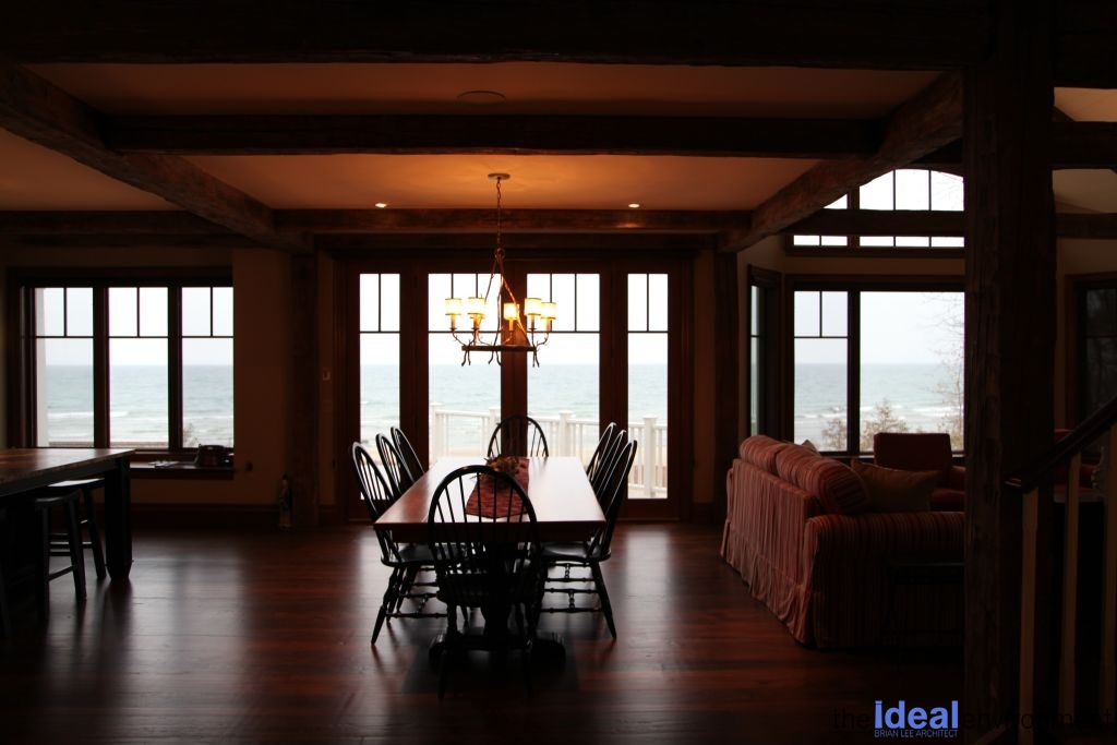 Tiny Beaches Cottage 2 Dining Room Lake View