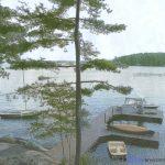 Lake Muskoka Cottage Dock