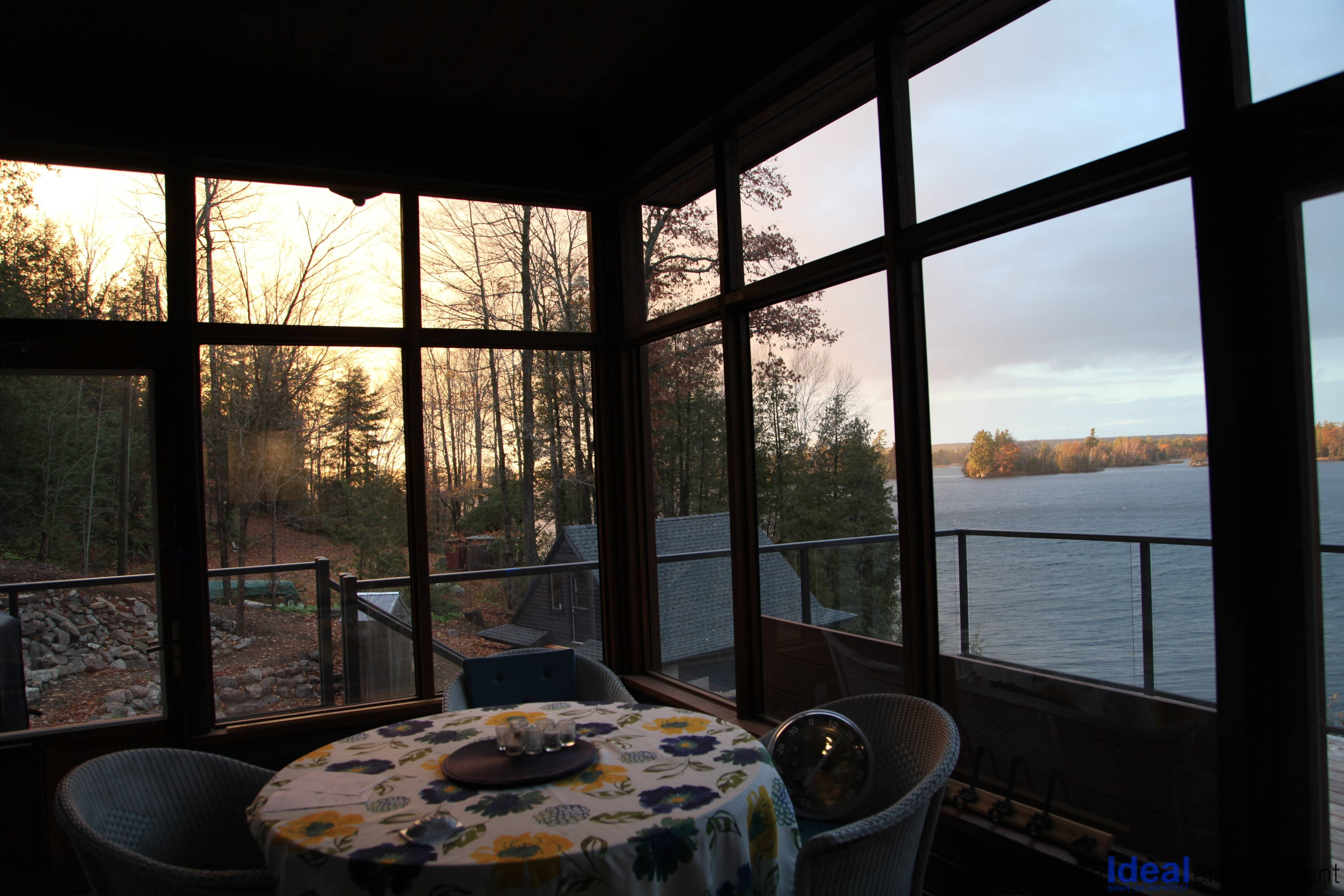 Eaglewings Screened Porch Sunset Views