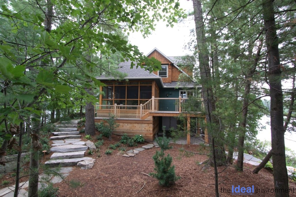 Muldrew Lake Cottage Exterior 2