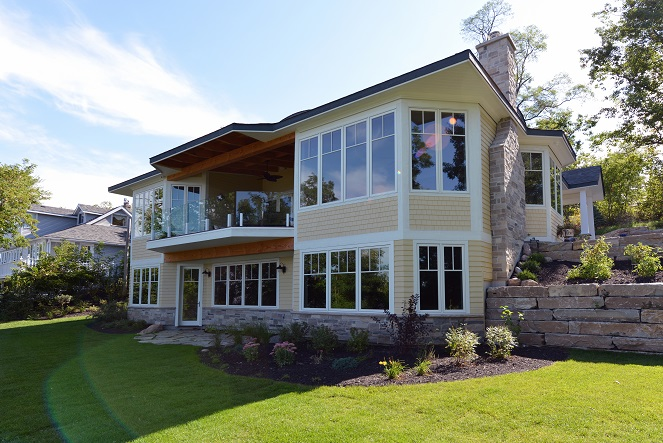 Chemong Lake Country Home Exterior View 2