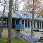 Six Mile Lake Cottage Exterior View