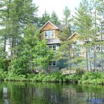 Muldrew Lake Cottage Exterior View from Water