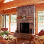 Lake Rosseau Cottage Fireplace 2