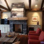 Tiny Beaches Cottage 2 Fireplace