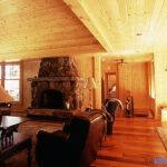 Bigwin Island Cottage Fireplace