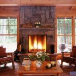 Lake Rosseau Cottage Fireplace