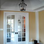Terracotta Country Home French Door Foyer 1