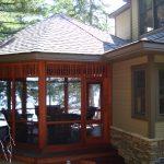 Kennisis Lake Cottage 3 Gazebo