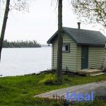 Six Mile Lake Cottage Lake View