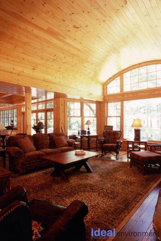 Bigwin Island Cottage Living Room