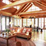 Lake Rosseau Cottage Living Room