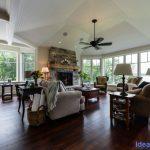Chemong Lake Country Home Living Room