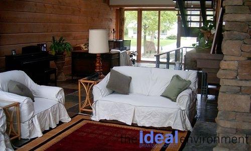 Lake Wilcox Residence Living Room