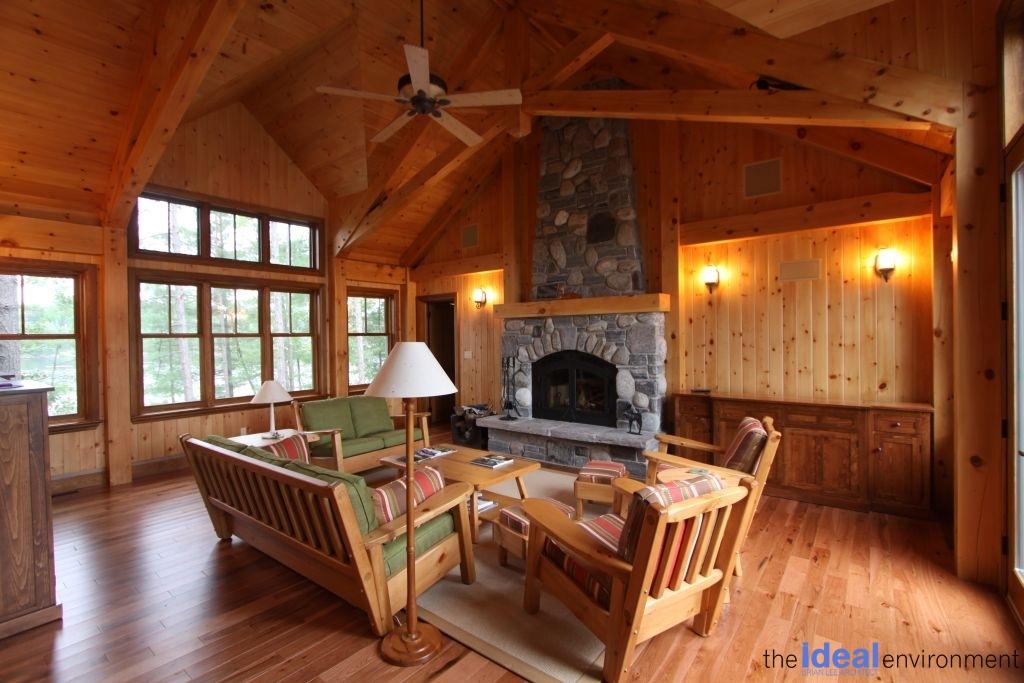 Muldrew Lake Cottage Living Room 2