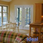 Six Mile Lake Cottage Living and Dining Room