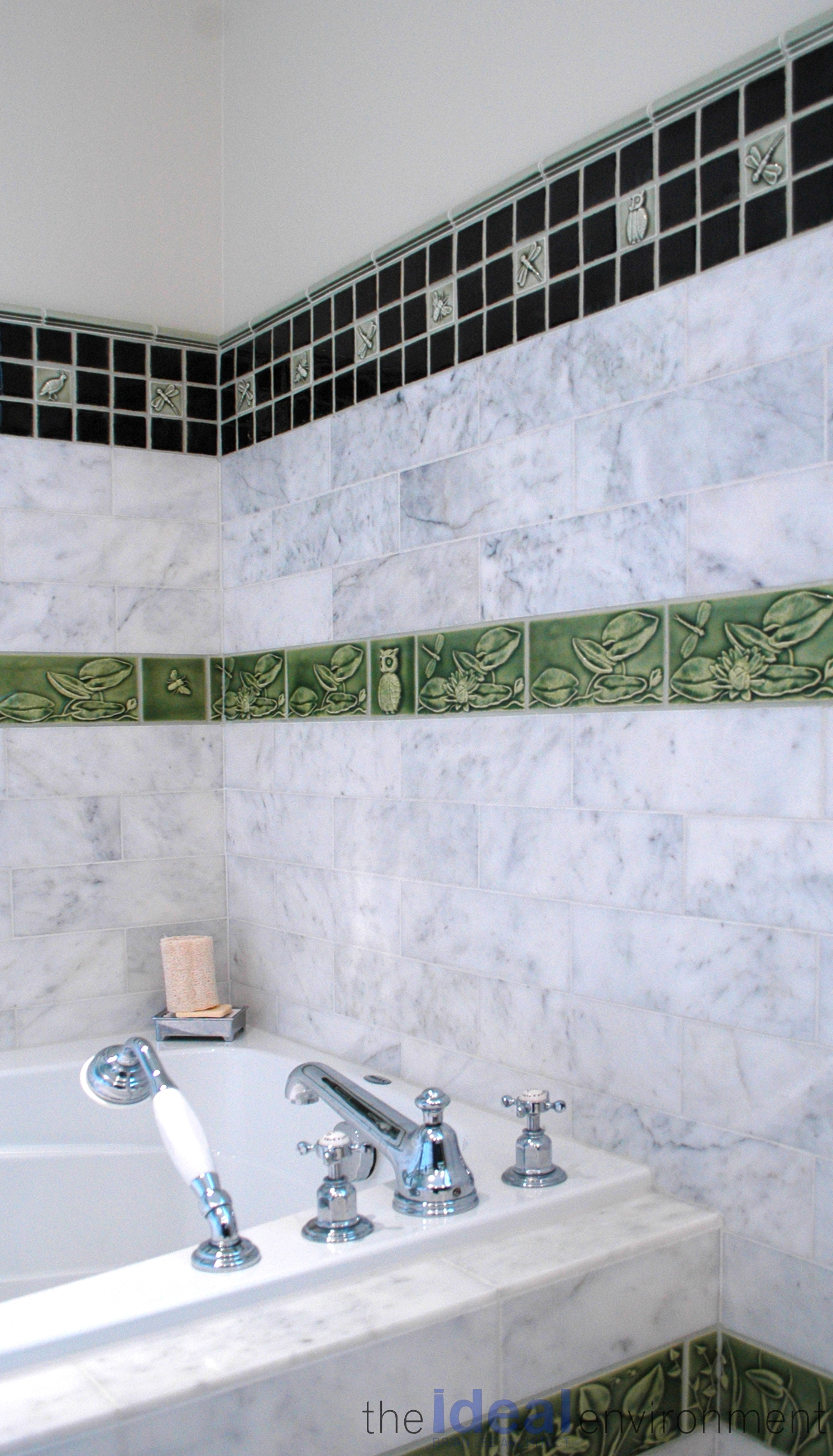 Terracotta Country Home Master Bathroom
