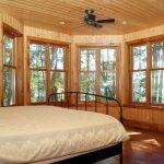 Kennisis Lake Cottage 1 Master Bedroom