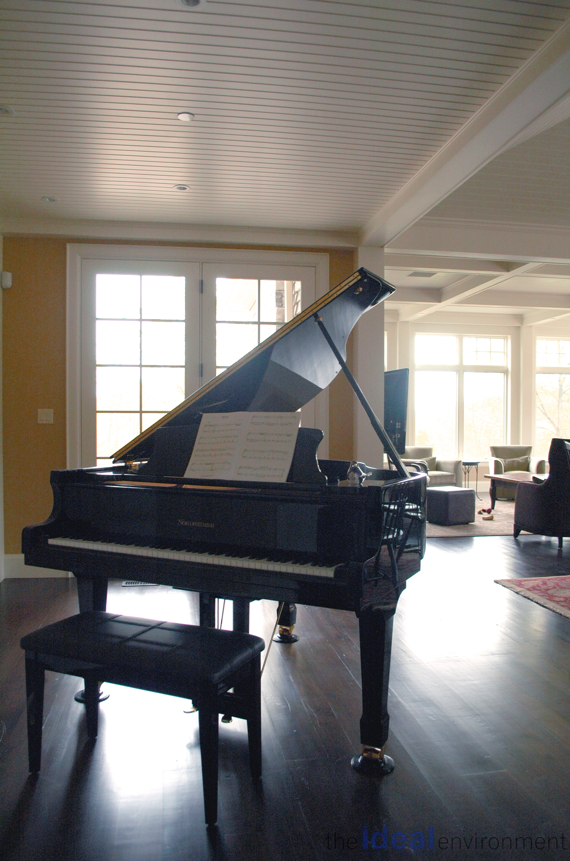Terracotta Country Home Piano