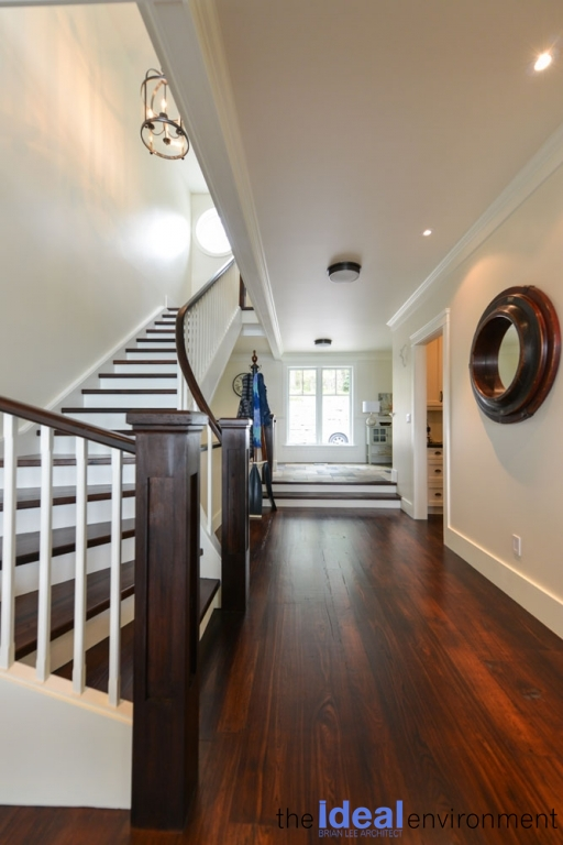 Chemong Lake Country Home Stairs