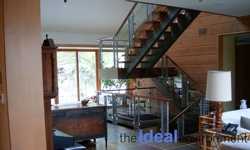 Lake Wilcox Residence Stairs