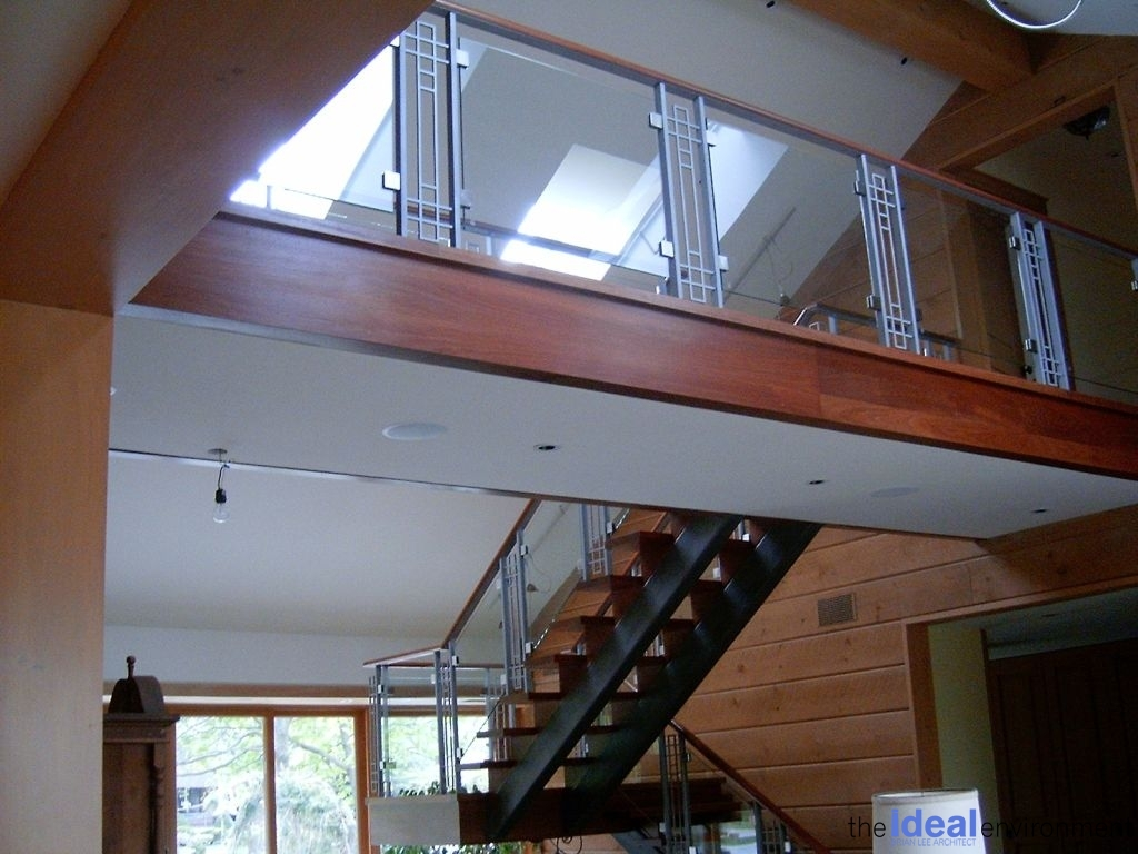 Lake Wilcox Residence Stair Details