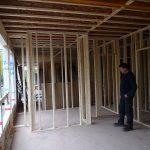 Interior partitions built