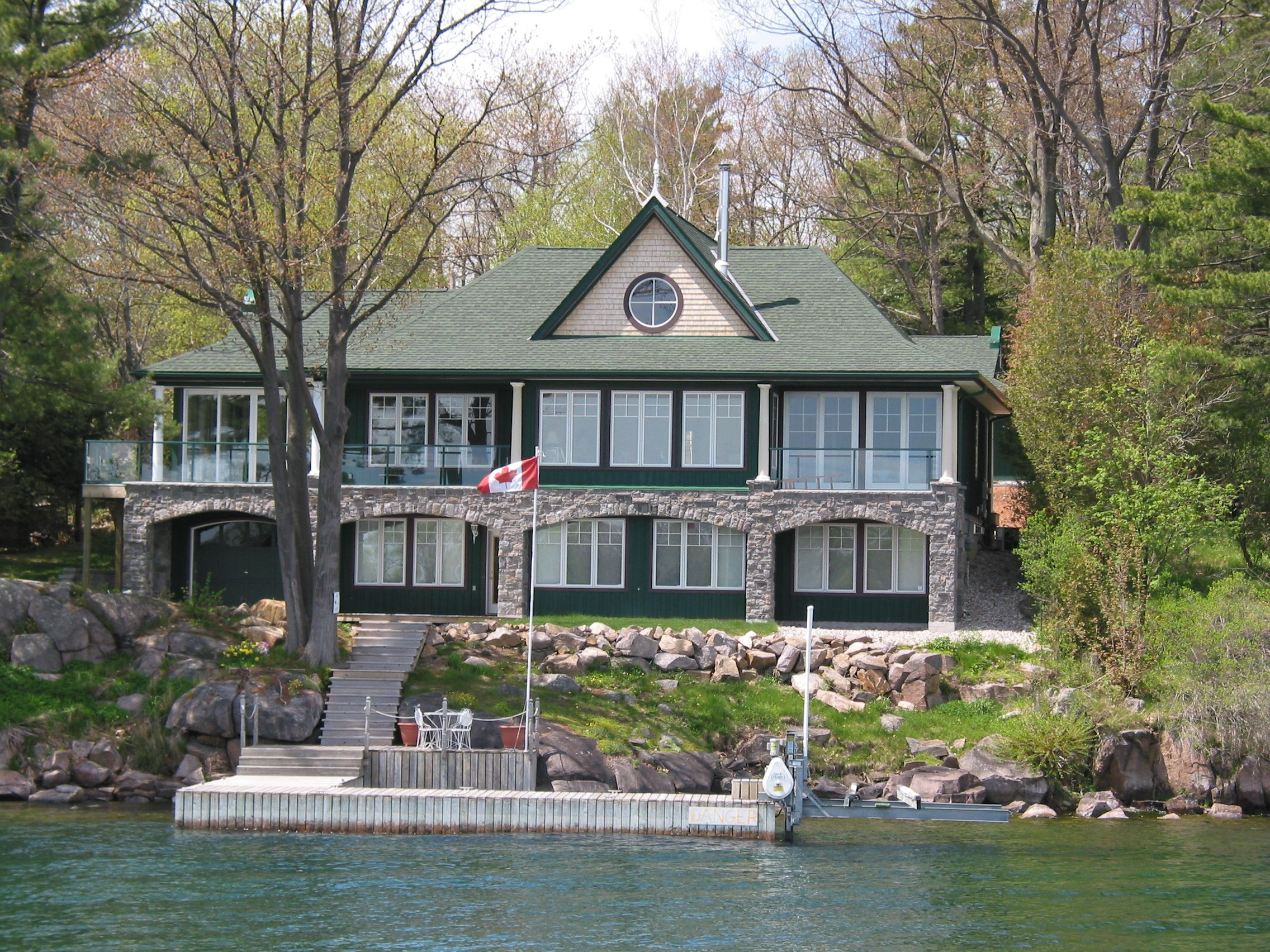 The Ideal Environment Portfolio - Cottage Design View from Water
