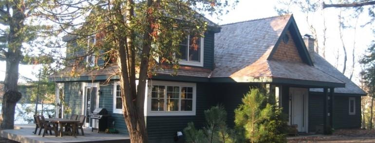 Lake Joseph Cottage Addition
